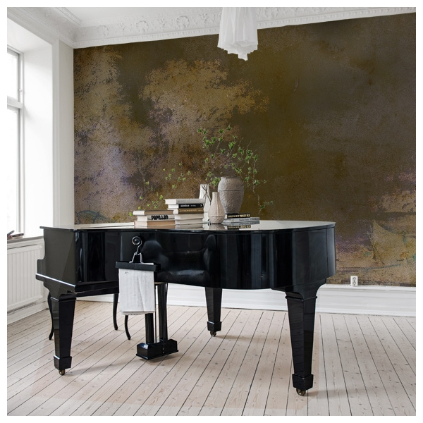d cor mural alchimie 9 collection jardin des sens labo leonard. Black Bedroom Furniture Sets. Home Design Ideas