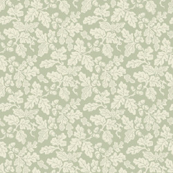 Papier peint - Cole and Son - Oak Leaf - Cream & Green
