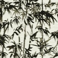 Papier peint - Elitis - Terra promessa - Vert foncé et blanc