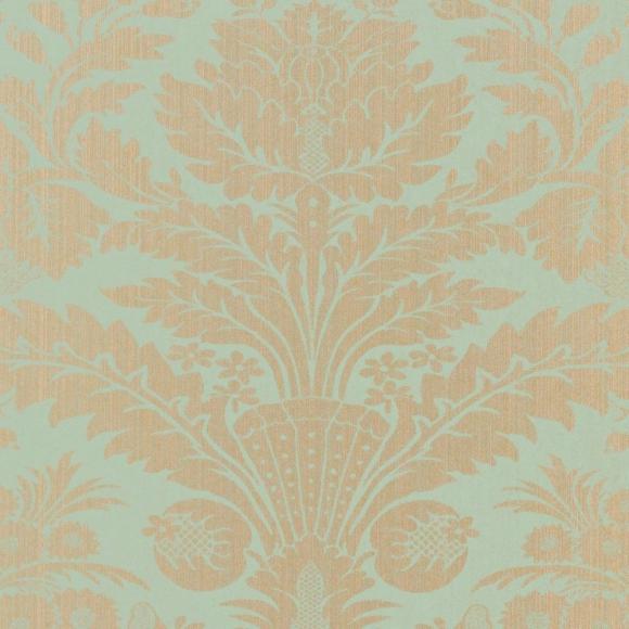 papier peint classiques intemporels bleu taddington thibaut au fil des couleurs. Black Bedroom Furniture Sets. Home Design Ideas