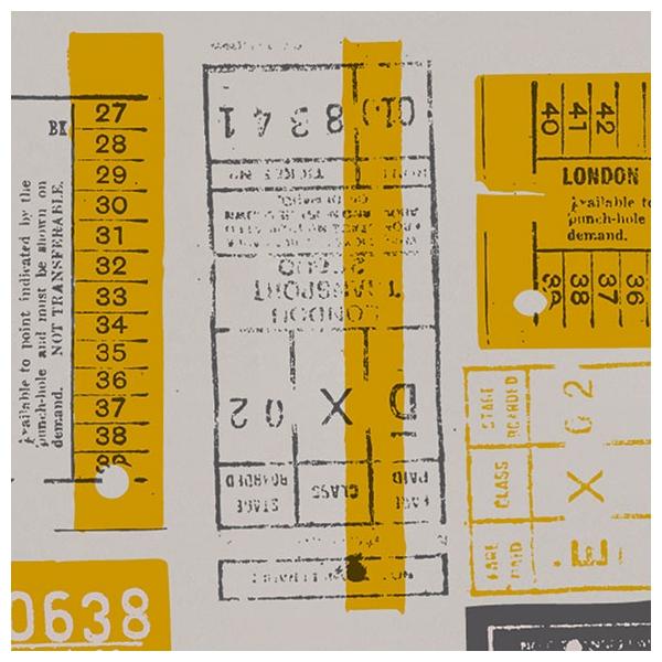 papier peint hold tight jaune moutarde et gris book 1. Black Bedroom Furniture Sets. Home Design Ideas