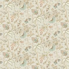 papier peint oriental blanc chinoiserie floral thibaut au fil des couleurs. Black Bedroom Furniture Sets. Home Design Ideas