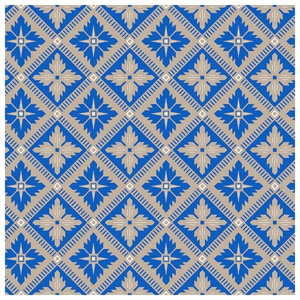 papier peint loka bleu beige et blanc collection anno bor stapeter. Black Bedroom Furniture Sets. Home Design Ideas