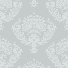 Papier peint - Cole and Son - Sudbury - Pale Blues & Lustre