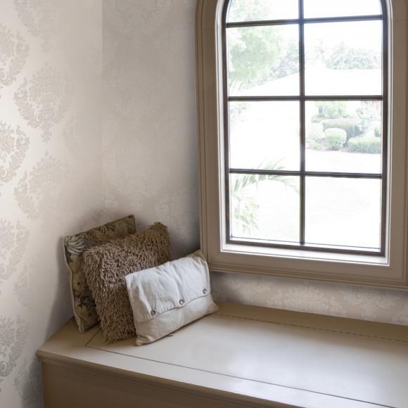 papier peint classiques intemporels taupe sudbury cole and son au fil des couleurs. Black Bedroom Furniture Sets. Home Design Ideas