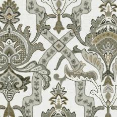 Papier peint - Thibaut - Sakara - Black and White