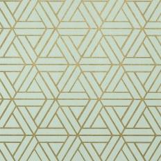Papier peint - Thibaut - Medina - Metallic on Aqua