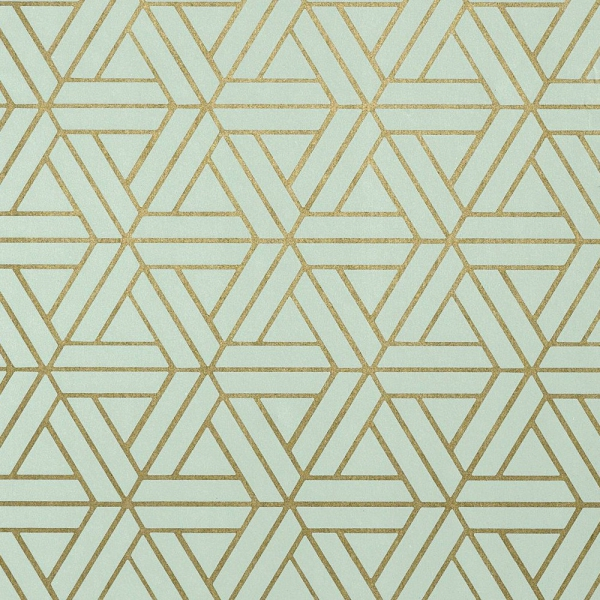 papier peint medina vert d eau et dor g om trie. Black Bedroom Furniture Sets. Home Design Ideas