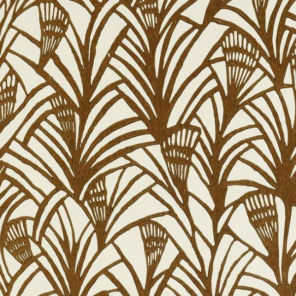 papier peint ethnique blanc charlotte 39 s fan tapet cafe au fil des couleurs. Black Bedroom Furniture Sets. Home Design Ideas