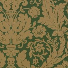 Papier peint - Thibaut - Drexel - Hunter Green