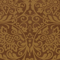 Papier peint - Thibaut - Roma - Metallic Bronze
