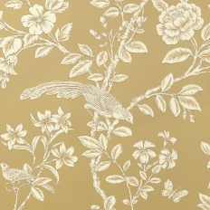 Papier peint - Thibaut - Soraya - Light Metallic Gold