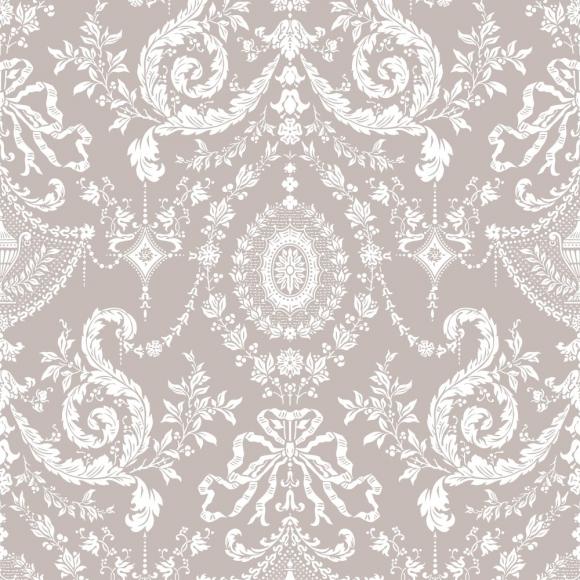 papier peint classiques intemporels gris woolverston cole and son au fil des couleurs. Black Bedroom Furniture Sets. Home Design Ideas