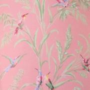 Papier peint - Thibaut - Augustine - Pink