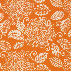 Tissu - Thibaut - Waterbury - Orange