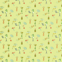Papier peint - Thibaut - Window shopping - Green