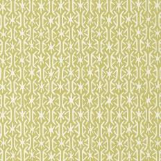 Tissu - Thibaut - Rinca - vert et blanc