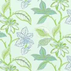 Tissu - Thibaut - Lucala - Bleu vert d'eau
