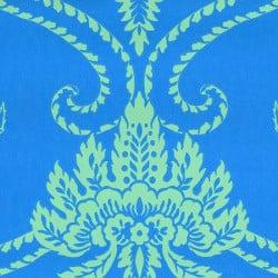 Papier peint - Anna French - Damask - Blue/Green