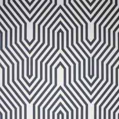 Papier peint - Osborne & Little - Minaret - Noir et blanc