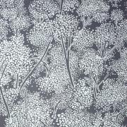 Papier peint - Nina Campbell - Woodsford - gris et blanc