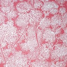 Papier peint - Nina Campbell - Woodsford - Rouge