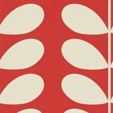 Papier peint - Harlequin - Giant Stem - Red