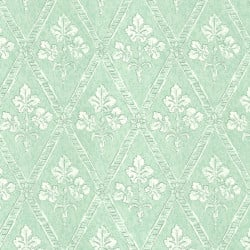Papier peint - Thibaut - Chantilly - Light Aqua