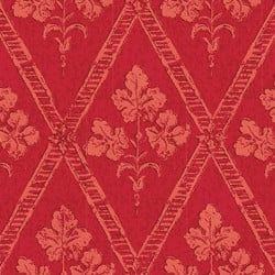 Papier peint - Thibaut - Chantilly - Red