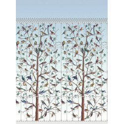 Décor mural - Cole and Son - Uccelli - Pale Blue