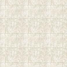 Papier peint - Thibaut - Corsico Square - Stone