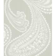 Papier peint - Cole and Son - Rajapur - Grey & White