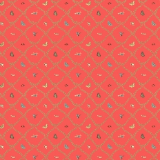 Papier peint - Thibaut - Margo - Raspberry