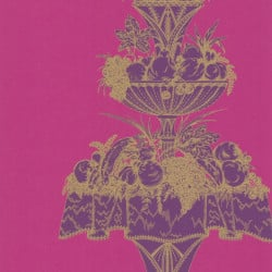 Papier peint - Cole and Son - Opera - Pink & Purple