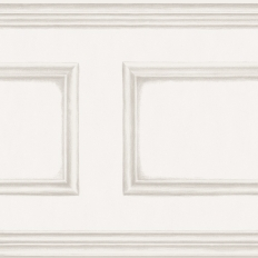 Frise - Cole and Son - Library Frieze - White
