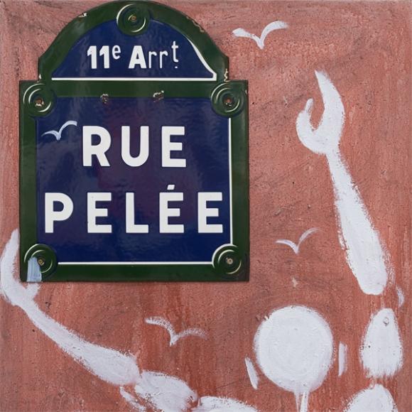 Décor mural - Au fil des Couleurs - Rue Pelée