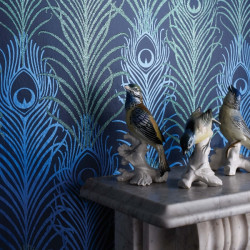 Papier peint - Matthew Williamson - Peacock - Blue