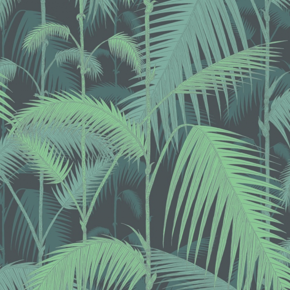 papier peint jungle vert palm jungle cole and son au fil des couleurs. Black Bedroom Furniture Sets. Home Design Ideas