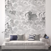 Décor mural - Cole and Son - Nuvole - Gris