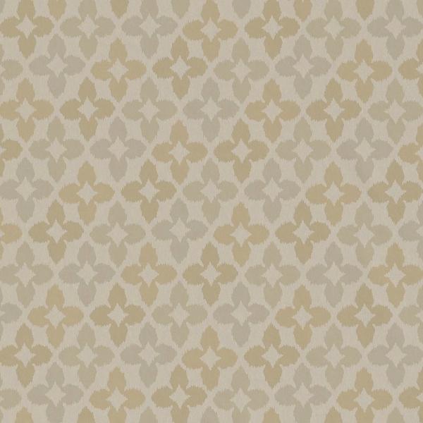 Papier peint g om trique taupe novia thibaut au fil des couleurs - Papier peint couleur taupe ...