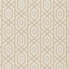 Papier peint - Thibaut - Prescott - Metallic on Putty