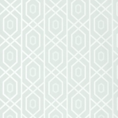 Papier peint - Thibaut - Prescott - Aqua