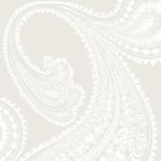Papier peint - Cole and Son - Rajapur - White & Shell