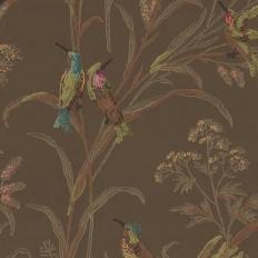 Papier peint - Thibaut - Augustine - Brown