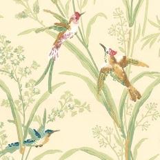 Papier peint - Thibaut - Augustine - Beige