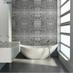 Décor mural - Cole and Son - Riflesso - Black White & Gold