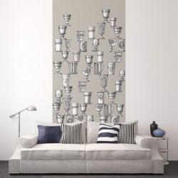 Décor mural - Cole and Son - Boemia - White & Black