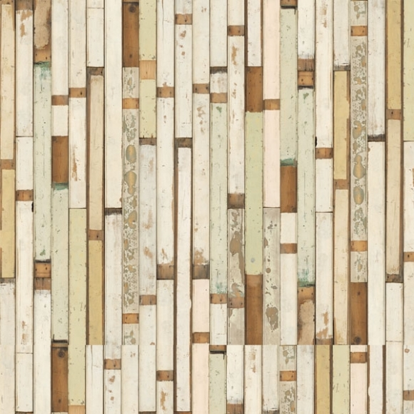 papier peint imitation planche de bois scrapwood nlxl by arte au fil des couleurs. Black Bedroom Furniture Sets. Home Design Ideas