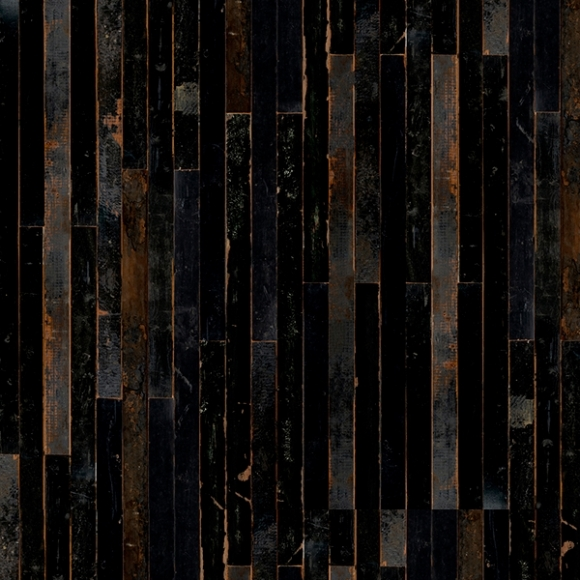 papier peint imitation bois noir scrapwood nlxl by arte au fil des couleurs. Black Bedroom Furniture Sets. Home Design Ideas