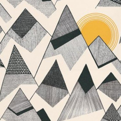 Papier peint - MissPrint - Mountains - Sunrise